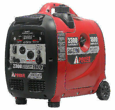 A-iPower 2300W 60V 4-Cycle Gas-Powered Inverter Generator SUA2300i OPEN BOX