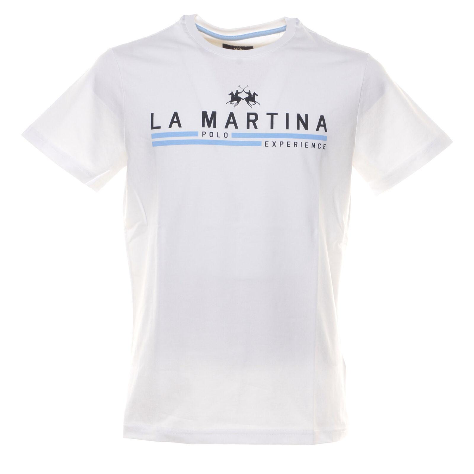 LA MARTINA T-SHIRT UOMO T-SHIRT M CORTA UOMO NMR007 00001