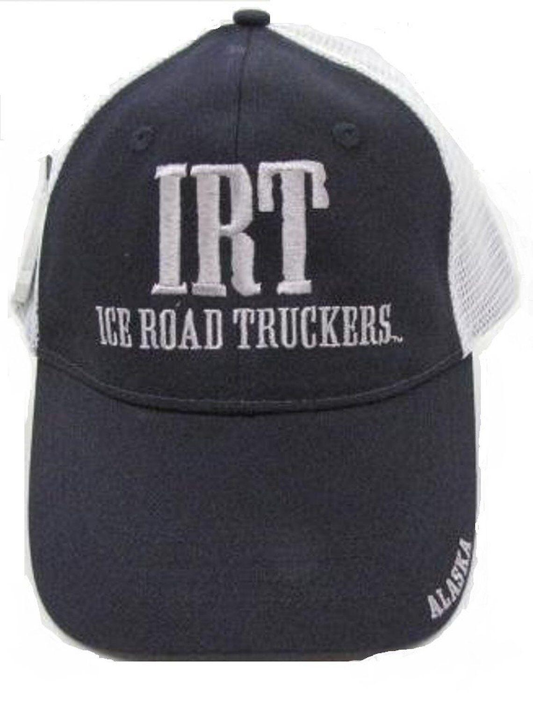 467e4b48ed0 Alaska s Ice Road Truckers Hat Ball Cap Navy IRT 723748180215