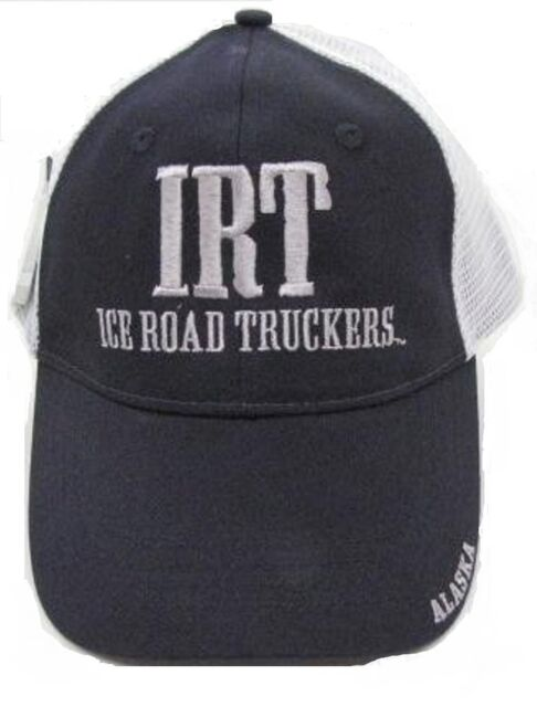 51b9c73d15e99 Alaska s Ice Road Truckers Hat Ball Cap Navy IRT 723748180215 for ...