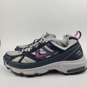 ironía enchufe surco  Nike Air ACG Alvord Series 5 White and Blue Trail Running Shoes Women's Sz  8.5 | eBay