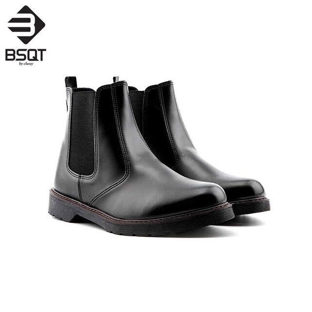 BSQT 191 Basic Chelsea Ankle stivali scarpe da ginnastica scarpe Height Increase scarpe Elevator