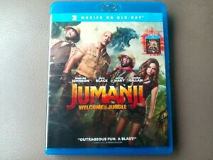 Jumanji-Welcome-To-The-Jungle-Walmart-Ex-Includes-Original-movie-blu-ray