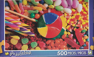 NEW Puzzlebug 500 Piece Jigsaw Puzzle ~ Candy Fun