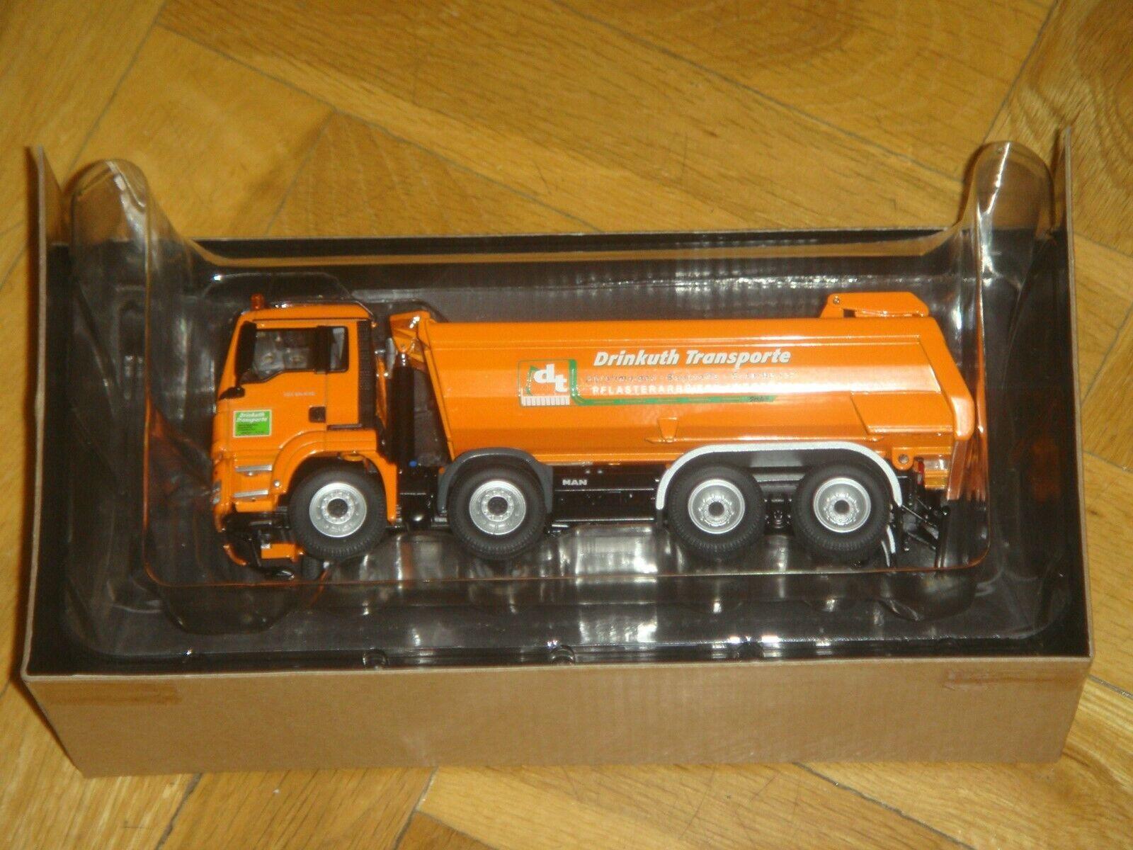 Man tgs 8x4  Drinkuth transport nzg 833 03 1 50 in box. new, brand new - (2