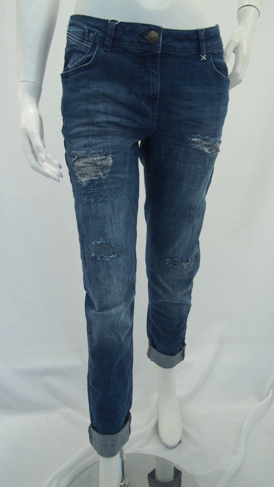 Cecil heavy heavy heavy used Denim Scarlett Jeans Donna Articolo N. b371055 JEANS NUOVO 35806a