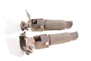 Pair Old Foot Pegs For Bicycle Seat Support Old Vintage Collector