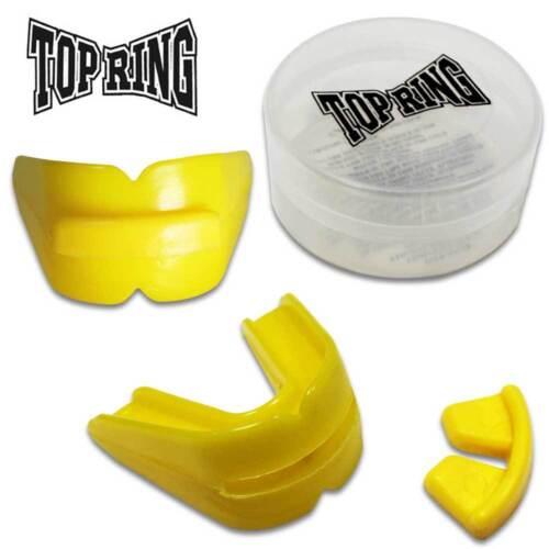 REX 397-YW Boil /& Bite Mouth-Guard Boxing Teeth UFC MMA Training Gear Yellow