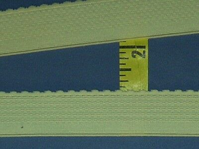 "Gripper Elastic Anti-Slip Elastic Scalloped Lingerie Elastic 1/"" Beige 2 yds #L2"