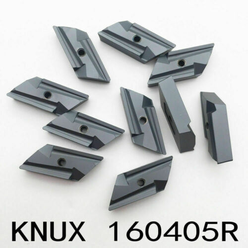 10PCS New KNUX 160405R Carbide Inserts CNC Roughing finishing For processing
