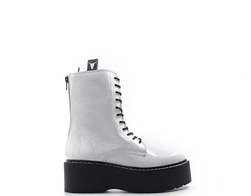 Chaussures Windsor Smith Femme BIANCO leonnox-whtp