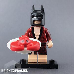 Batman Movie Lego mini figure LOBSTER LOVIN BATMAN with accessories