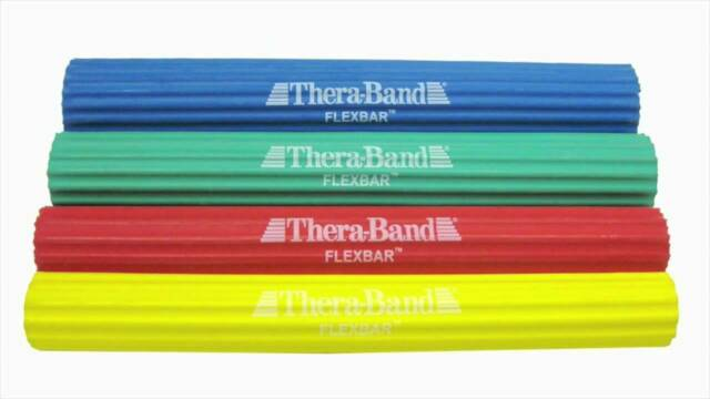 TheraBand 26100 Flexbar Tennis Elbow Therapy Bar Relieve Tendonitis Pain /& I for sale online
