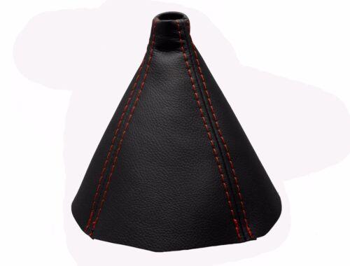 2003-2010 Funda Palanca de Cambio BMW SERIE 5 100/% Piel Costuras en Rojo