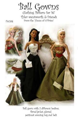 TW208 Ball Gowns Pattern for Tyler /& friends