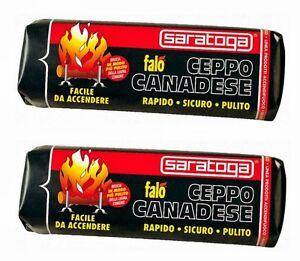CEPPO-ACCENDIFUOCO-SARATOGA-GR-1100-CONF-12-PEZZI-STUFA-CAMINO-ACCENDI-FUOCO