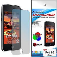 3 Pz PELLICOLA PELLICOLE PROTEGGI SALVA SCHERMO LCD PER APPLE IPOD TOUCH 2G 3G