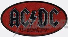 "AC/DC ""Oval Logo"" Patch/Aufnäher 600879#"