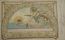 Carte postale origniale Alfons MUCHA début XX°s P1633