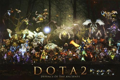 "DotA 2 Defence Of The Ancients Silk Wall Poster Game Picture 13x20 24x36/"" inch"