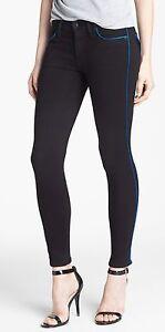 6d1d911184c Nwt $198 Hudson Dakota Contrast-Piped Super Skinny Pants Jeans Cade ...