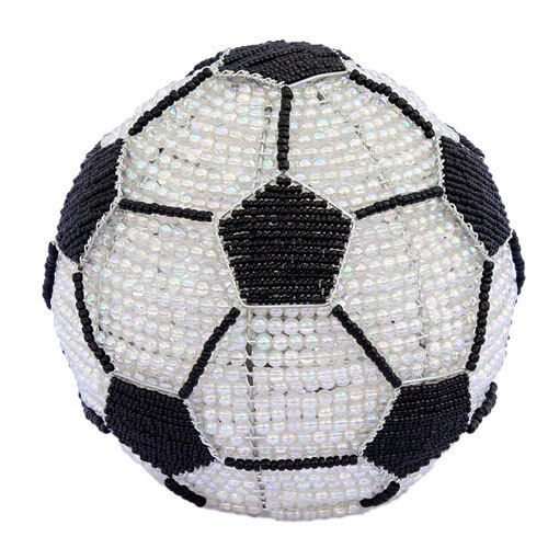 BEADWORX hand crafted Night Lamp - SOCCER BALL -  BW-39SCBL01