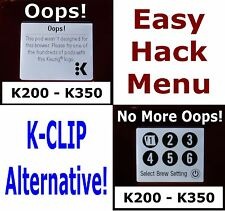 KEURIG 2.0 K250 20 SECONDS EASY HACK FULL MENU UNLOCK MOD DRM + MAGNET