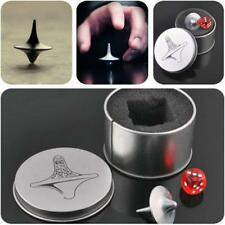 Inception Totem Print Metal Gyro Great Accurate Silver Spinning Top Toy Funny JJ