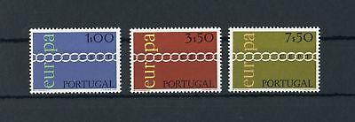 Mutig Portugal Nr.1127-1129 ** Europa-cept 1971 Me 30,-+ Elegant Im Geruch !!! 117458
