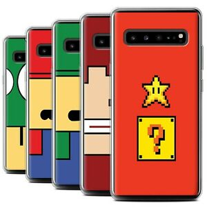 Gel-TPU-Case-for-Samsung-Galaxy-S10-5G-Retro-Gaming-Characters