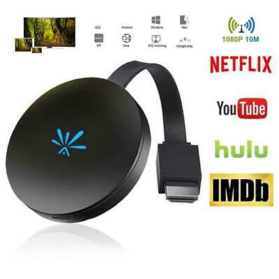 G6 MiraScreen Miracast WiFi Display HDMI TV Media Dongle Wireless Receiver