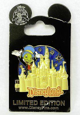 Disney Pin Disneyland 59th Anniversary Pin 2014 Jiminy Cricket Limited Edition