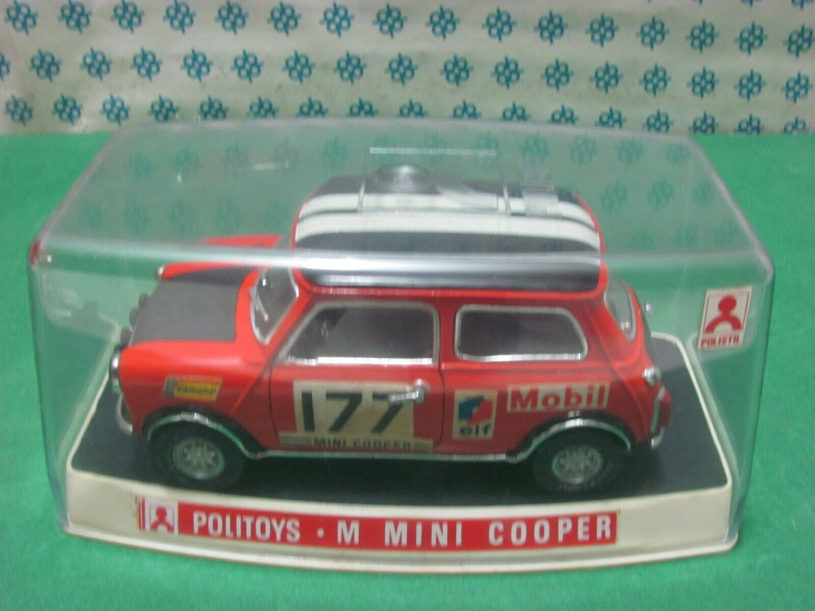 Vintage - Mini Cooper - 1 25 POLITOYS-M - Made in  - MIB