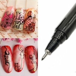 1PC-Nail-Art-Graffiti-Pen-Waterproof-Painting-Drawing-Liner-Brush-Manicure-Tools