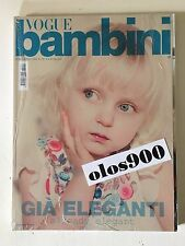 VOGUE BAMBINI Mar/April 2009 International Children's Fashion Italy NEW & SEALED