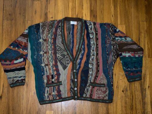 Mens Vintage Coogi Cardigan Sz. Medium