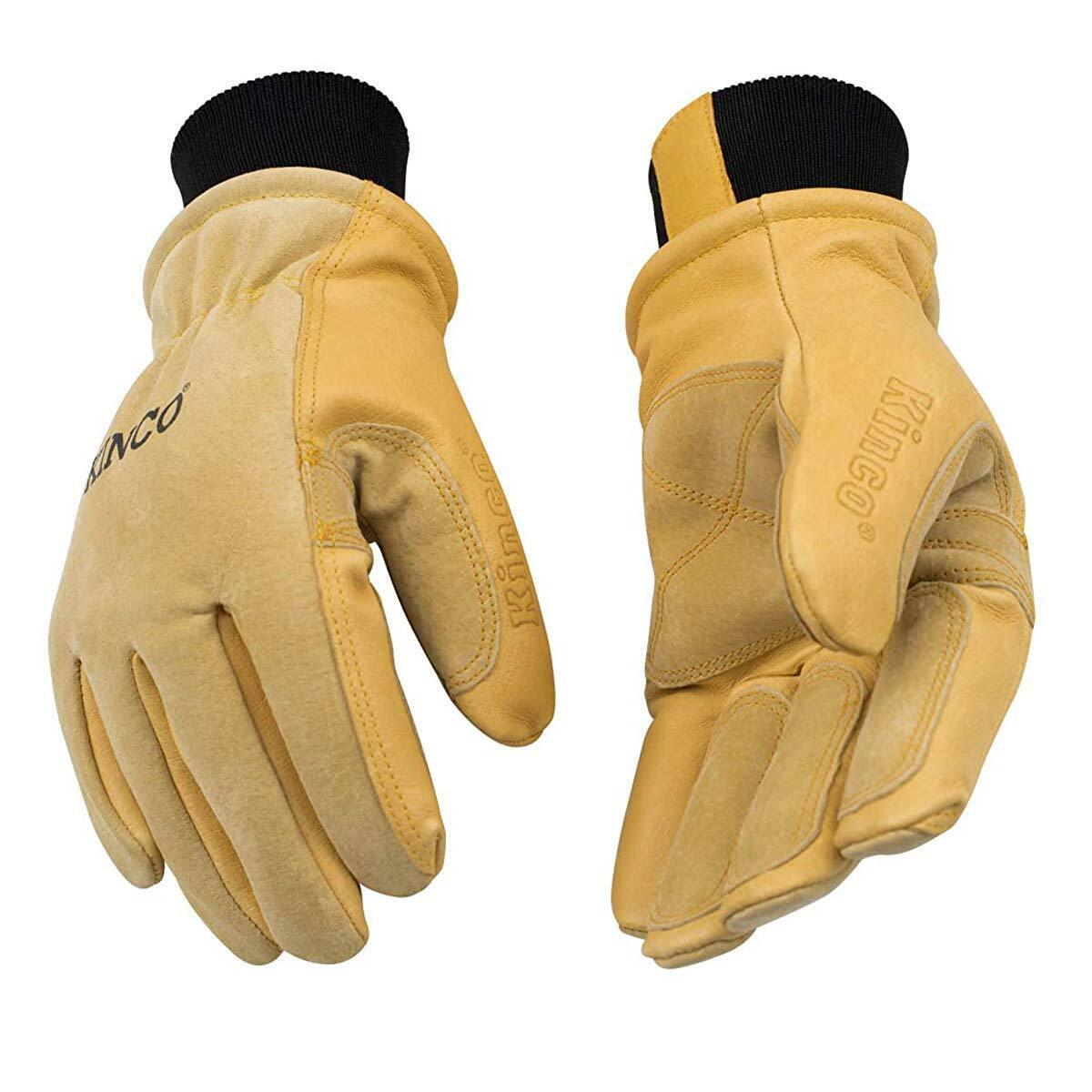 Kinco Heavy Duty Grain & Suede Pigskin Gloves 2020