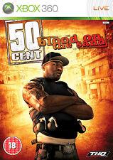50 Cent: sangre en la arena ~ XBox 360 (en gran condición)