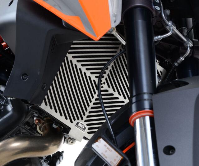 R&G RACING STAINLESS STEEL RADIATOR GUARD KTM 1290 Super Duke R (2014)