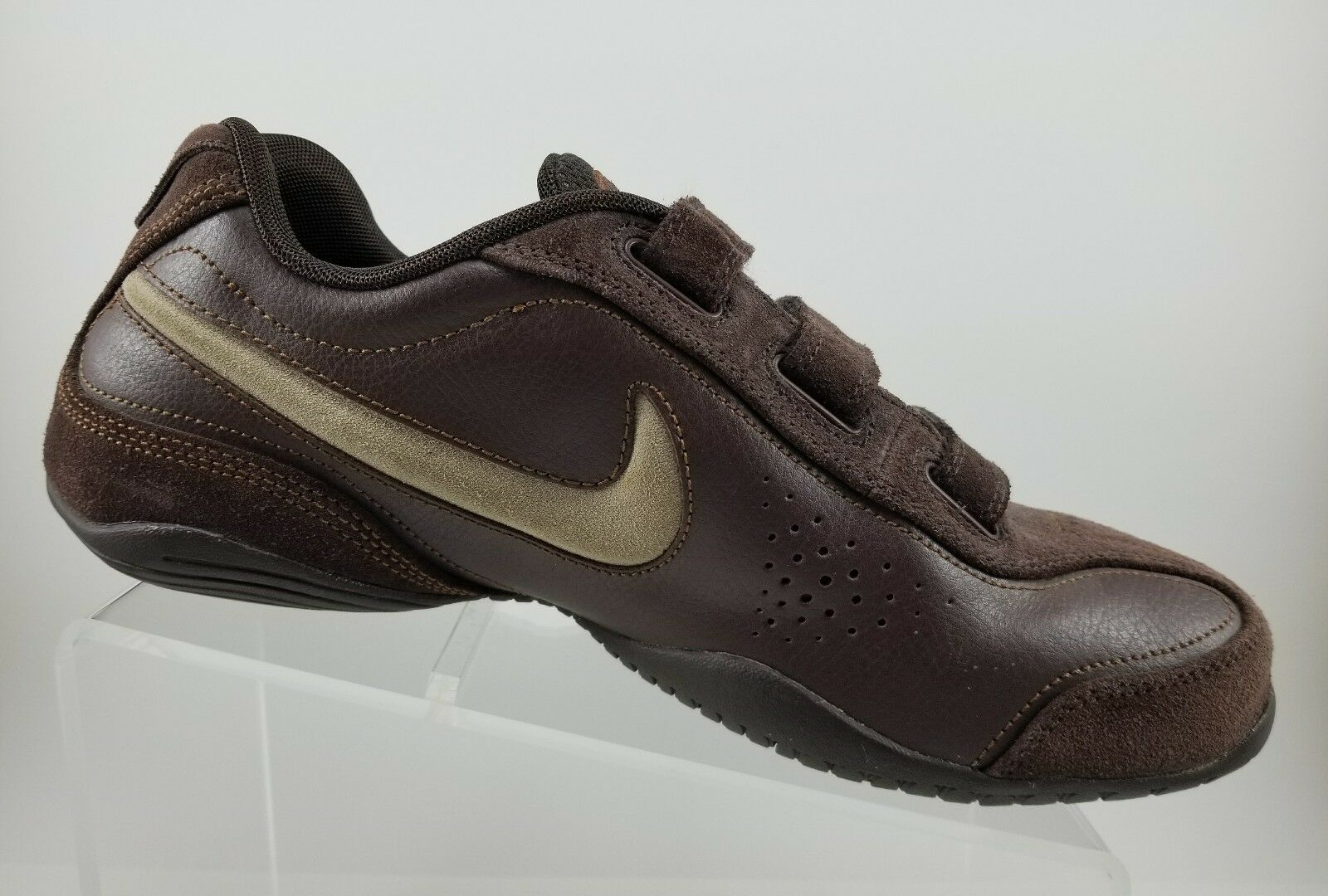 RARE Vintage Nike Air Series 6D V BrownThree Strap Strap Strap Athletic Sneakers  Mens 10B 178a3e