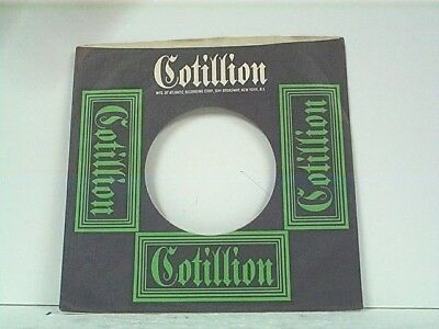 Music Sensible 1-cotillion Record Company 45's Sleeves Lot #125-s Crazy Price