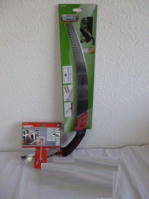 Connex Set Spezialzahnung, 320mm, Gartensäge  K18Handschuhe Gr10Überbrille | Elegante Und Stabile Verpackung  | Luxus