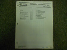 1989 VW Golf Diesel Automatic Transmission Cruise Control Wiring Diagram Manual