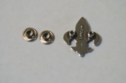 "Lot 5 New Fleur De Lis Rivetback Concho 7//8/"" x 3//4 /"" Enmon Silver Leather Belt"