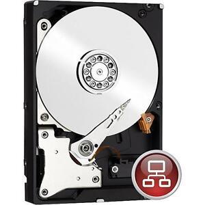 4TB Western Digital red WD40EFRX RAID Intern sATA3 Festplatte 64MB Cache