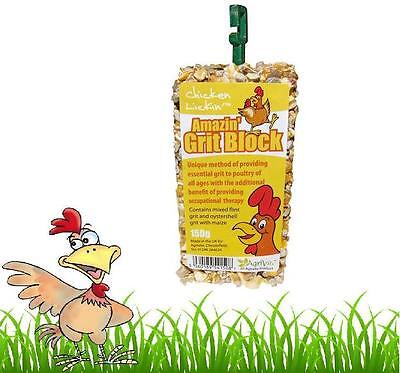 Pet Supplies Amicable Chicken Lickin Grit Peck Block 150g Poultry Stop Feather Pecking Hatching Eggs