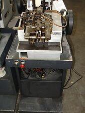 Ombi Model Gplu Double Curb Chain Making Machine