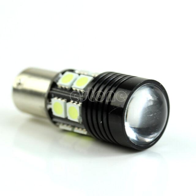 12W R5 + 12-SMD 1156 BA15S 1141 Car Tail Backup Reverse LED Light White
