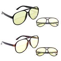 Aviator Night Driving Vision Glasses High Definition Sport Hd Sunglasses Yellow