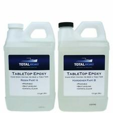 Epoxy Resin 1 Gallon Crystal Clear Hardener Kit For Countertops Bar And Table